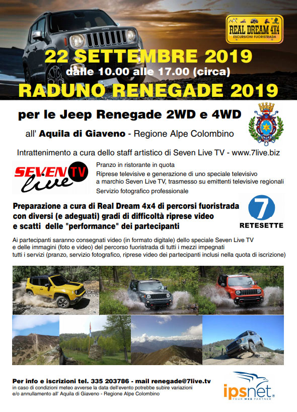 Raduno Jeep Renegade